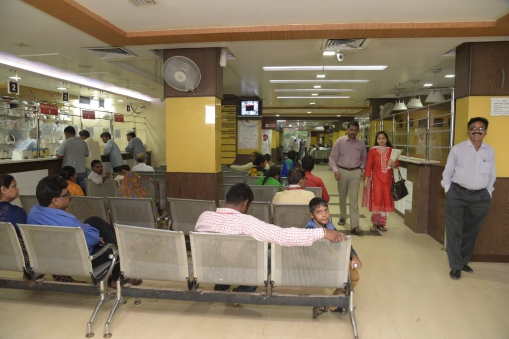 Phoenix Hospital Waiting Area
