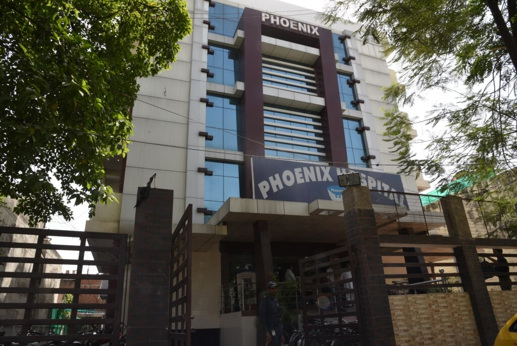 Phoenix Hospital Front View